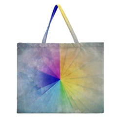 Abstract Art Modern Zipper Large Tote Bag by Celenk