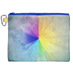 Abstract Art Modern Canvas Cosmetic Bag (xxl) by Celenk