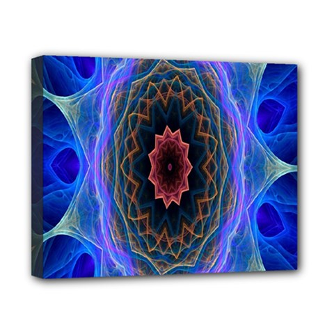 Cosmic Flower Kaleidoscope Art Canvas 10  X 8  by Celenk