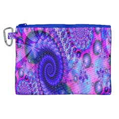 Fractal Fantasy Creative Futuristic Canvas Cosmetic Bag (xl) by Celenk
