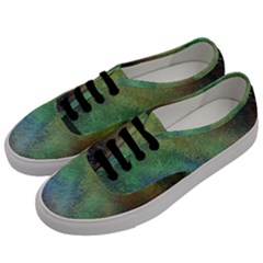 Frosted Glass Background Psychedelic Men s Classic Low Top Sneakers by Celenk