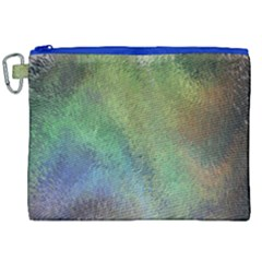 Frosted Glass Background Psychedelic Canvas Cosmetic Bag (xxl) by Celenk