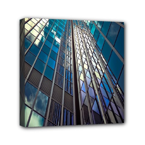 Architecture Skyscraper Mini Canvas 6  X 6  by Celenk