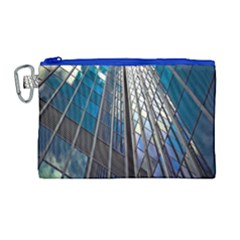 Architecture Skyscraper Canvas Cosmetic Bag (large)