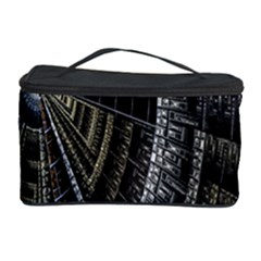Fractal Circle Circular Geometry Cosmetic Storage Case by Celenk