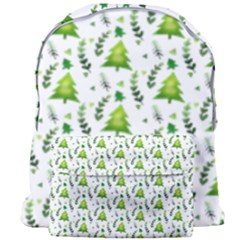 Watercolor Christmas Tree Giant Full Print Backpack