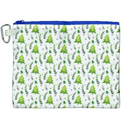 Watercolor Christmas Tree Canvas Cosmetic Bag (xxxl) by patternstudio