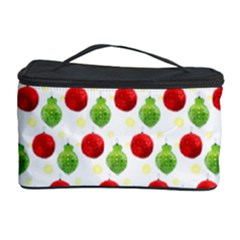 Watercolor Ornaments Cosmetic Storage Case by patternstudio