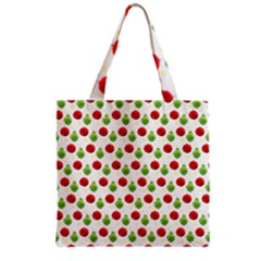 Watercolor Ornaments Grocery Tote Bag by patternstudio