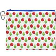 Watercolor Ornaments Canvas Cosmetic Bag (xxxl) by patternstudio