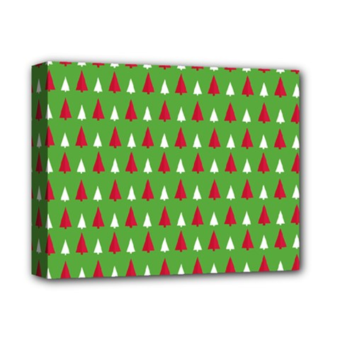 Christmas Tree Deluxe Canvas 14  X 11  by patternstudio