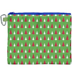 Christmas Tree Canvas Cosmetic Bag (xxxl) by patternstudio