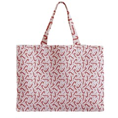 Candy Cane Medium Tote Bag by patternstudio
