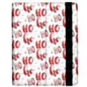 Ho Ho Ho Santaclaus Christmas Cheer Apple iPad Mini Flip Case View2