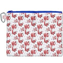 Ho Ho Ho Santaclaus Christmas Cheer Canvas Cosmetic Bag (xxxl) by patternstudio