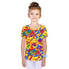 Homouflage Gay Stealth Camouflage Kids  One Piece Tee