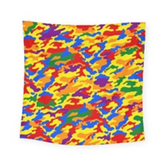 Homouflage Gay Stealth Camouflage Square Tapestry (small)