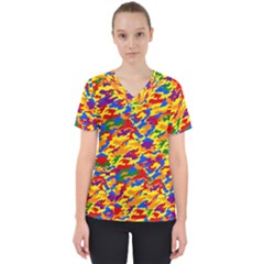 Homouflage Gay Stealth Camouflage Scrub Top by PodArtist