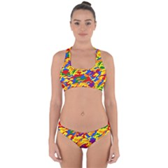 Homouflage Gay Stealth Camouflage Cross Back Hipster Bikini Set by PodArtist