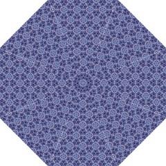Crystals Pattern Blue Folding Umbrellas by Cveti