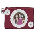 Our lace Canvas Cosmetic Bag (XL)