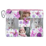 My Butterflies Canvas Cosmetic Bag (XL)