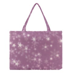 Blurry Stars Lilac Medium Tote Bag by MoreColorsinLife
