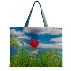 Beauty Nature Scene Photo Zipper Mini Tote Bag by dflcprints