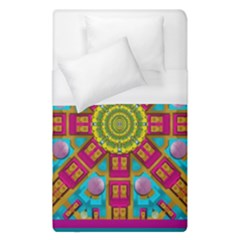 Sunny And Bohemian Sun Shines In Colors Duvet Cover (single Size) by pepitasart
