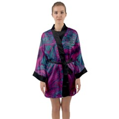 Asian Dragon Camouflage Long Sleeve Kimono Robe
