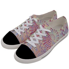 Gateway To Thelight Pattern  Women s Low Top Canvas Sneakers by Cveti