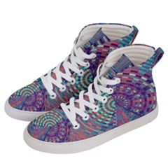 Gateway To Thelight Pattern 4 Women s Hi Top Skate Sneakers by Cveti