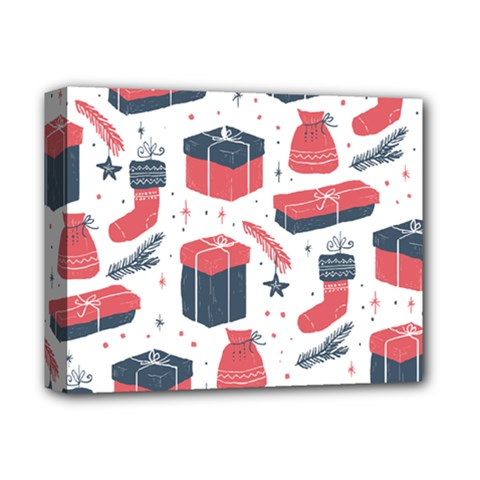 Christmas Gift Sketch Deluxe Canvas 14  X 11  by patternstudio