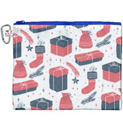 Christmas Gift Sketch Canvas Cosmetic Bag (xxxl) by patternstudio