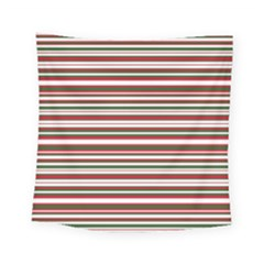 Christmas Stripes Pattern Square Tapestry (small) by patternstudio