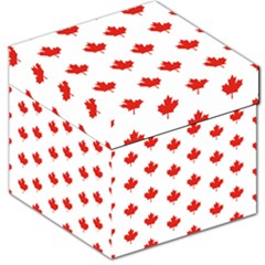 Maple Leaf Canada Emblem Country Storage Stool 12   by Celenk