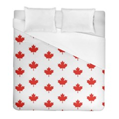 Maple Leaf Canada Emblem Country Duvet Cover (full/ Double Size) by Celenk