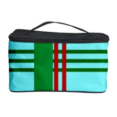 Christmas Plaid Backgrounds Plaid Cosmetic Storage Case by Celenk