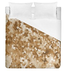 Texture Background Backdrop Brown Duvet Cover (queen Size) by Celenk