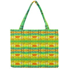 Birds Beach Sun Abstract Pattern Mini Tote Bag by Celenk