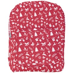 Red Christmas Pattern Full Print Backpack