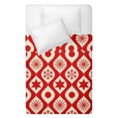 Ornate Christmas Decor Pattern Duvet Cover Double Side (single Size) by patternstudio