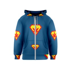 Super Dealer Kids  Zipper Hoodie by PodArtist