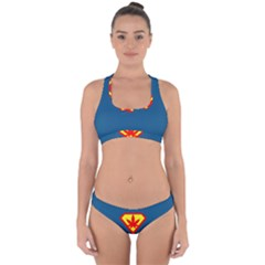 Super Dealer Cross Back Hipster Bikini Set by PodArtist