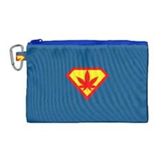 Super Dealer Canvas Cosmetic Bag (large) by PodArtist
