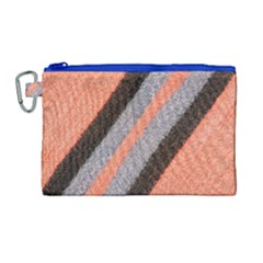 Fabric Textile Texture Surface Canvas Cosmetic Bag (large) by Celenk