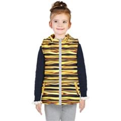 Texture Wood Wood Texture Wooden Kid s Puffer Vest