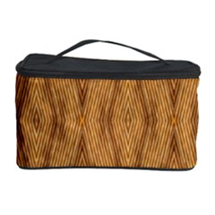 Wood Background Backdrop Plank Cosmetic Storage Case