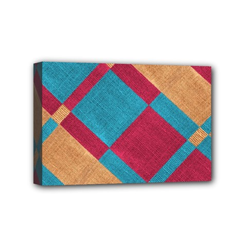 Fabric Textile Cloth Material Mini Canvas 6  X 4  by Celenk