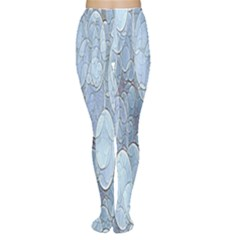 Bubbles Texture Blue Shades Women s Tights by Celenk